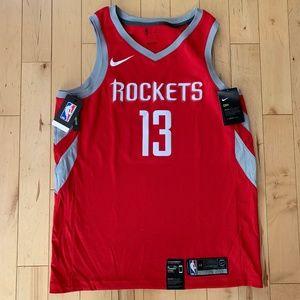 Nike James Harden Rockets Swingman Jersey Large 48